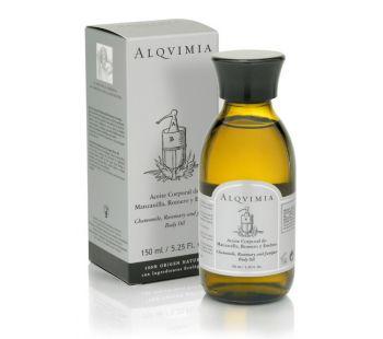 Camomile, Rosemary And Juniper Body Oil
